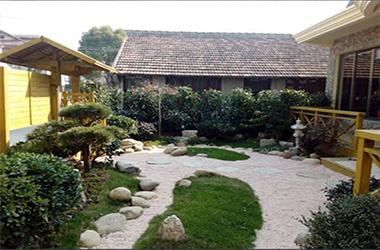 禅意别墅庭院
