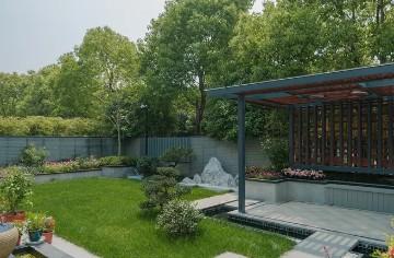 别墅庭院绿植