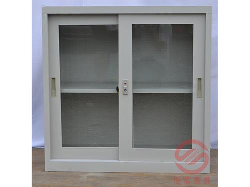 玻璃文件地柜