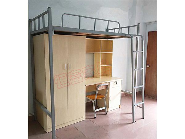 个人公寓床  木制