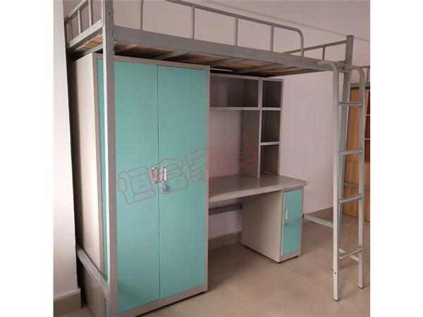 職工公寓床  雙門