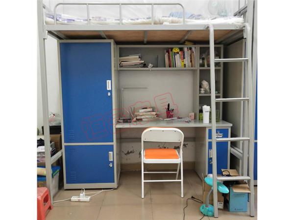 学生公寓床  双门