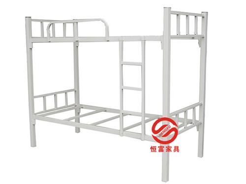 方管灰白色双层床