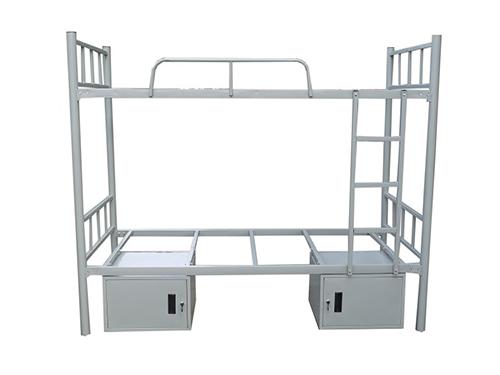 双层床带储物柜  50圆管