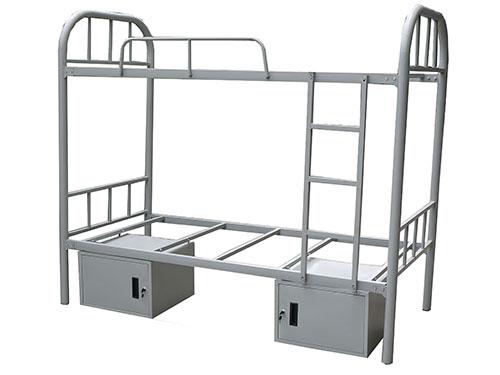 圆管大弯床带储物柜