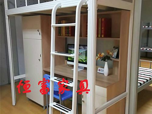 异形管单人公寓床