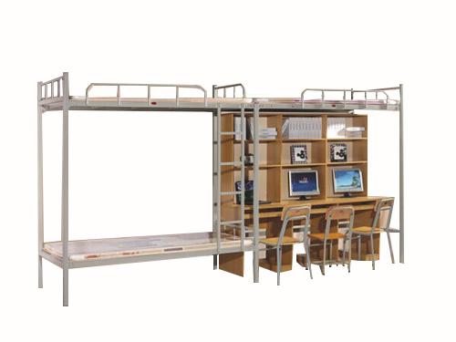双层床书台连体组合床