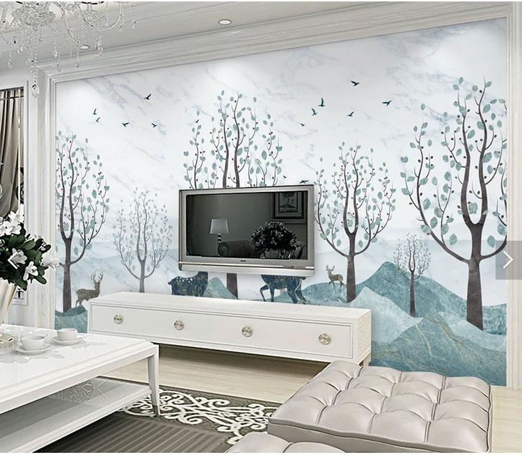 家居电视背景墙