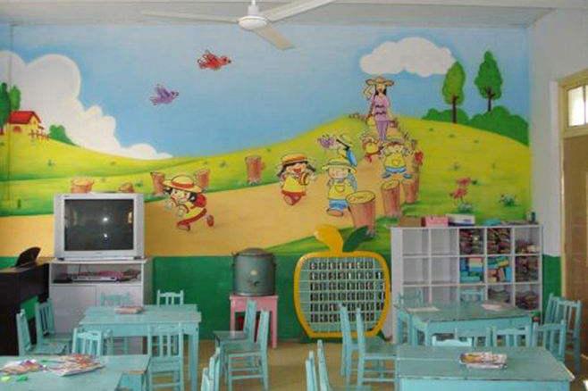 幼儿园主题墙绘