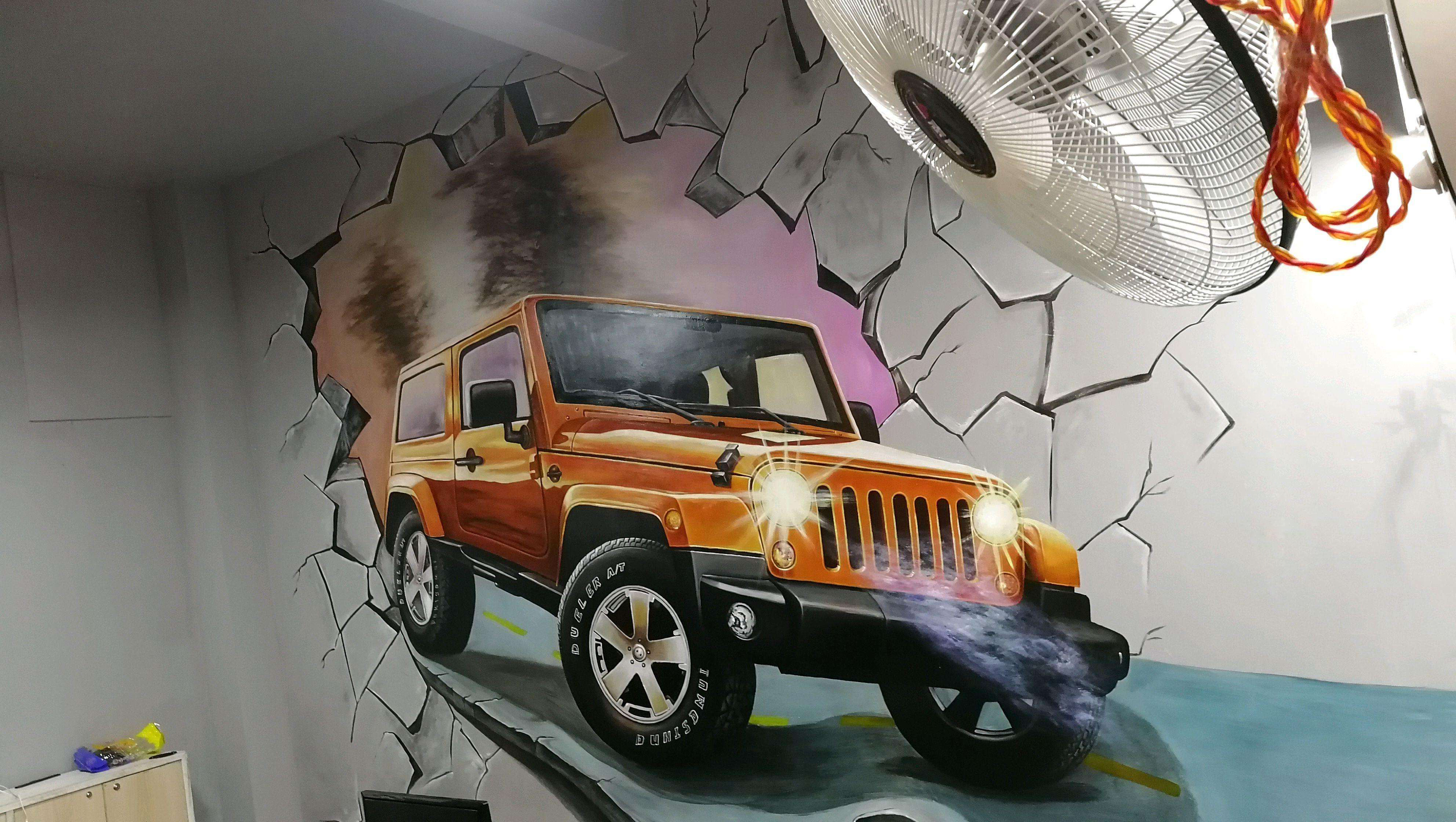 3D立体墙绘