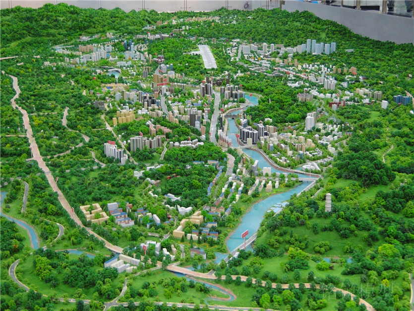 恩施市总体规划模型