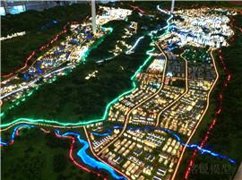 金沙总体规划模型