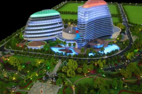 别墅建筑模型制作