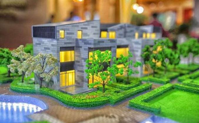 重庆地产沙盘模型
