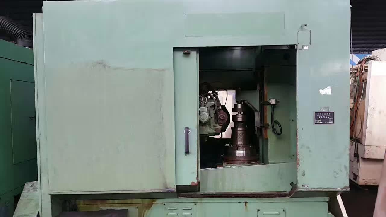 重庆机床厂二轴数控高效滚齿机ykx3120,6模