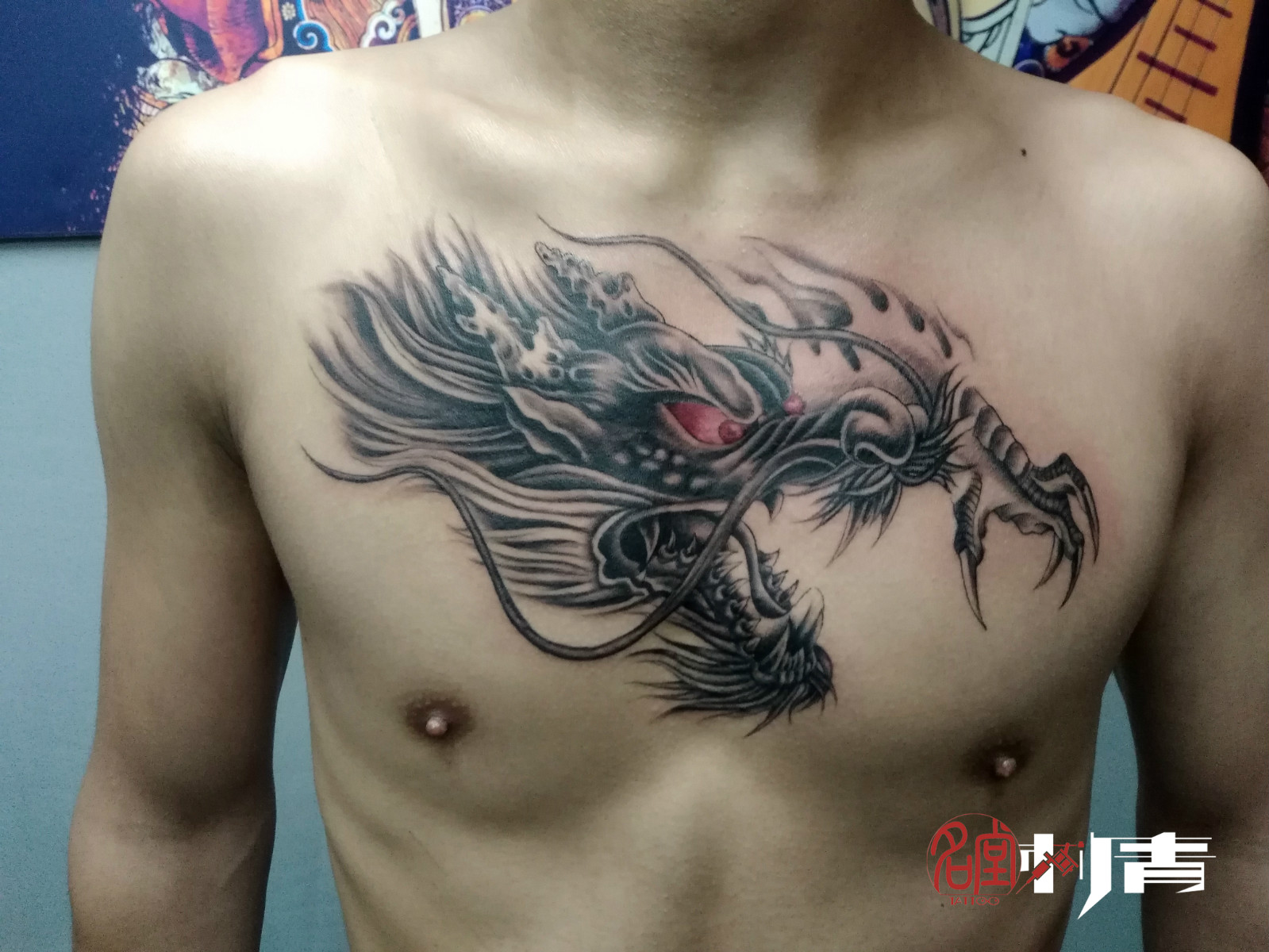 渝北两路纹身