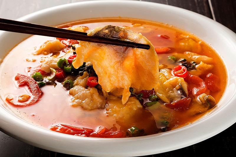 青花椒鱼片