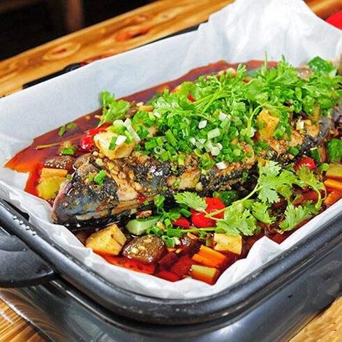 青椒纸包鱼