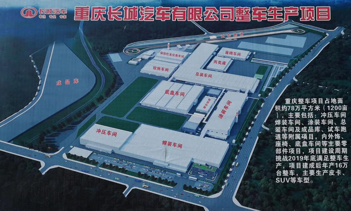长城汽车-重庆永川工厂