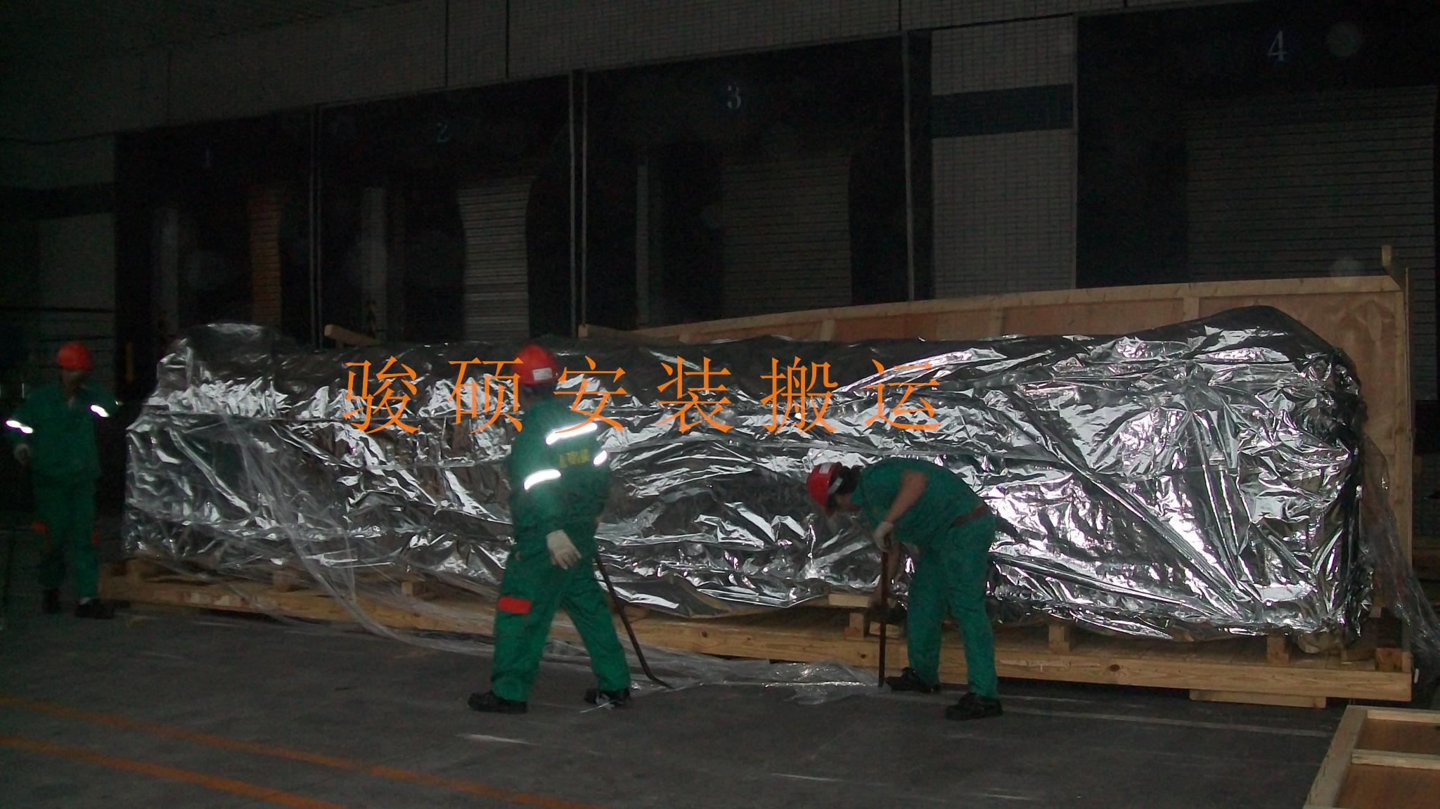 贵阳设备拆箱工程