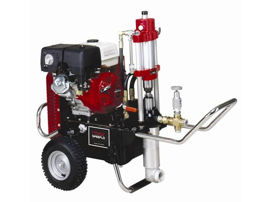 NPT1820汽油机引擎液压柱塞式无气喷涂机