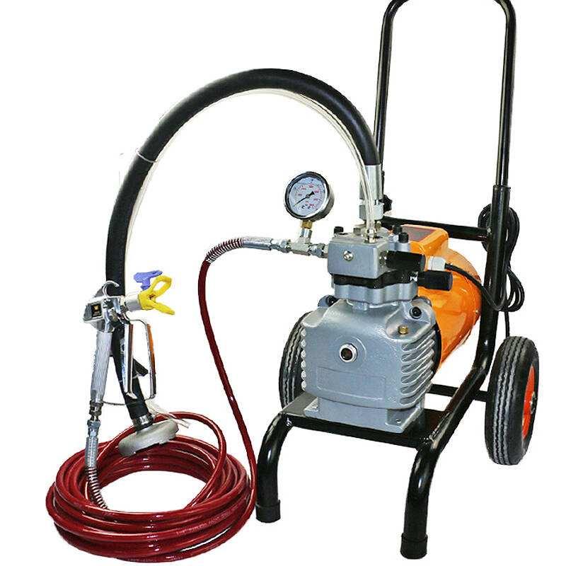 GPDM30E汽油机动力隔膜式无气喷涂机