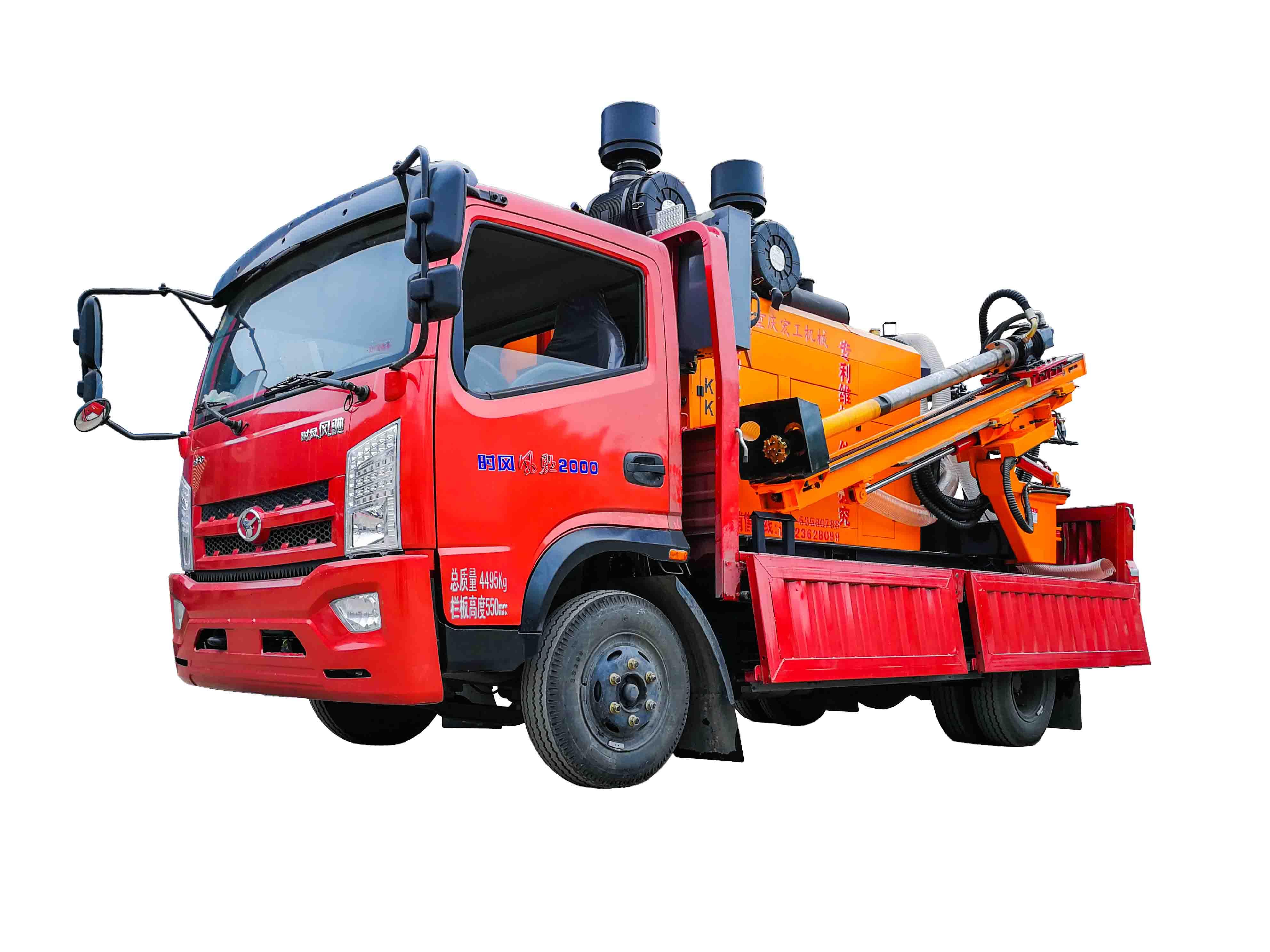 二手收购GZJC-车载式钻机