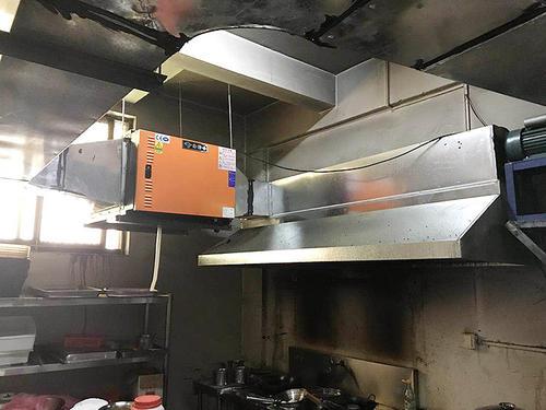 饭店环保排油烟系统