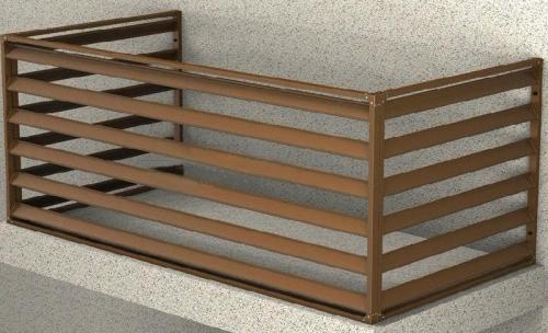 空调架护栏定制