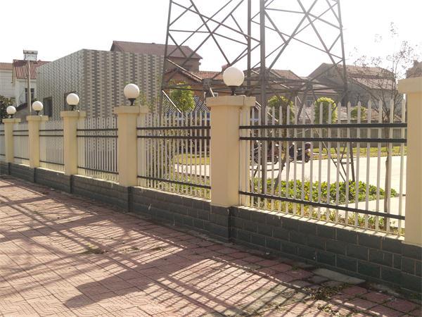 武汉铁艺围墙护栏