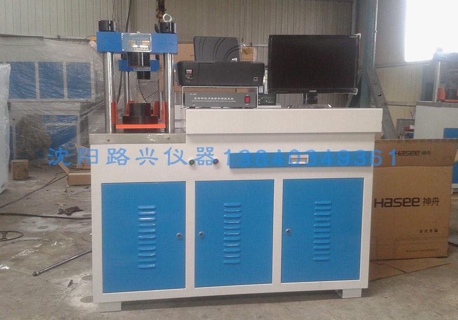 DYE-100SP,200SP,300SP液晶屏控制全自动恒应压力试验机