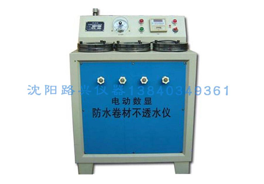 SY-B型电动防水卷材不透水仪