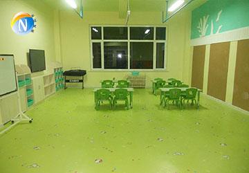 儿童塑胶地板制作