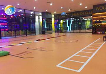 运动塑胶地板定制
