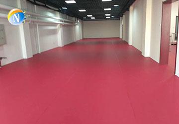 运动塑胶地板施工