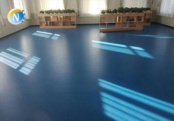 运动塑胶地板工程