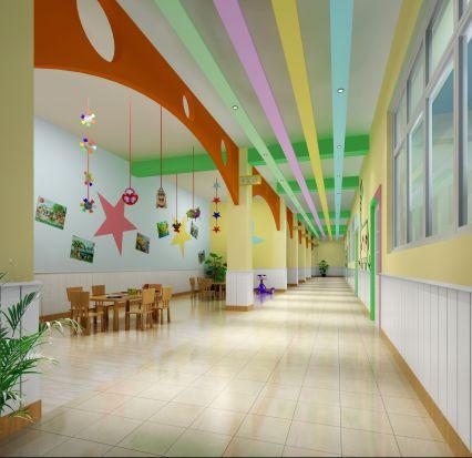 幼儿园效果图制作