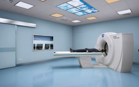 医院CT1效果图制作
