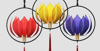 灯具建模效果图