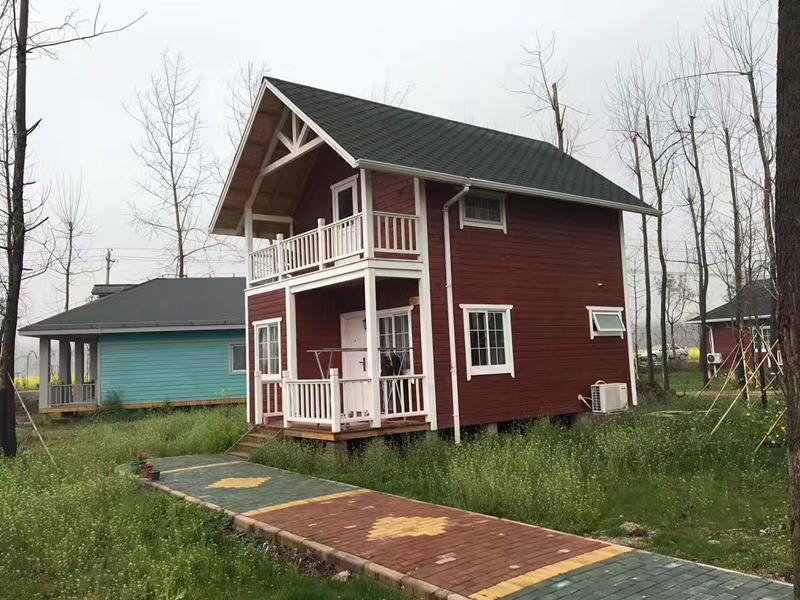 防腐木木房子
