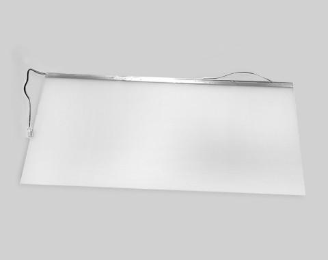 586意式冰箱面光源导光板