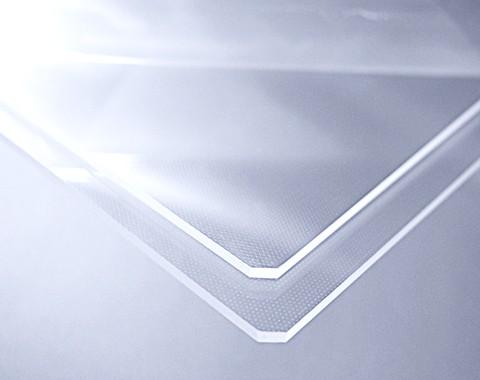 水晶广告灯箱导光板