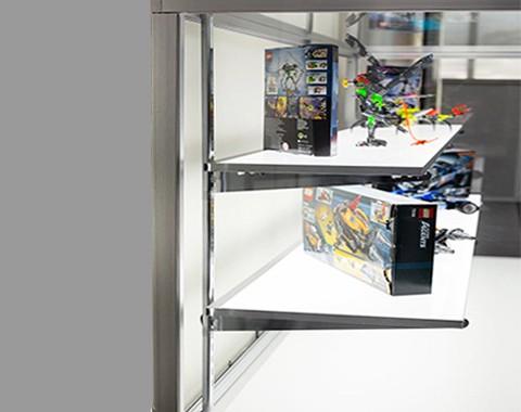 专卖店展示架发光隔板导光板