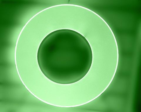 环形装饰灯导光板