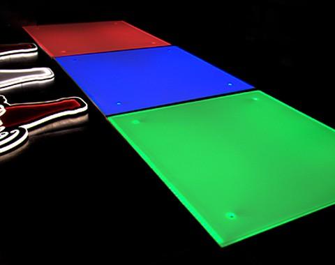 全彩RGB工程灯具导光板