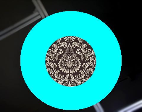 环形装饰灯具导光板