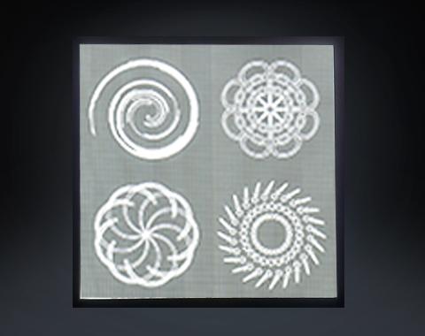 工程类花纹导光板