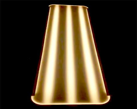 定制独特网点发光设计 展示展柜专用发光层板 面板灯 装饰灯