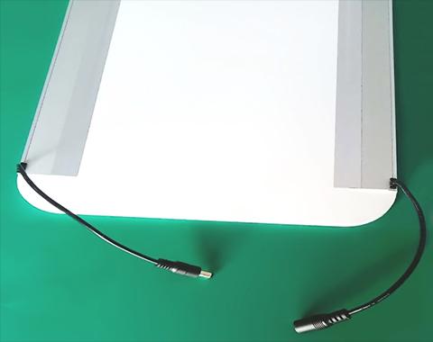 发光隔板 面板灯