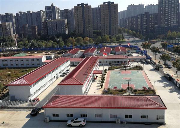 武汉四坡活动房施工